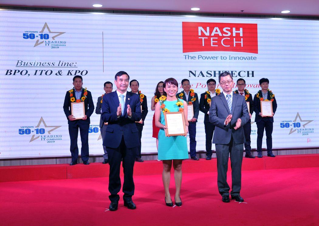 2019年ベトナムIT企業トップ50+10にNashTechが選出されました!