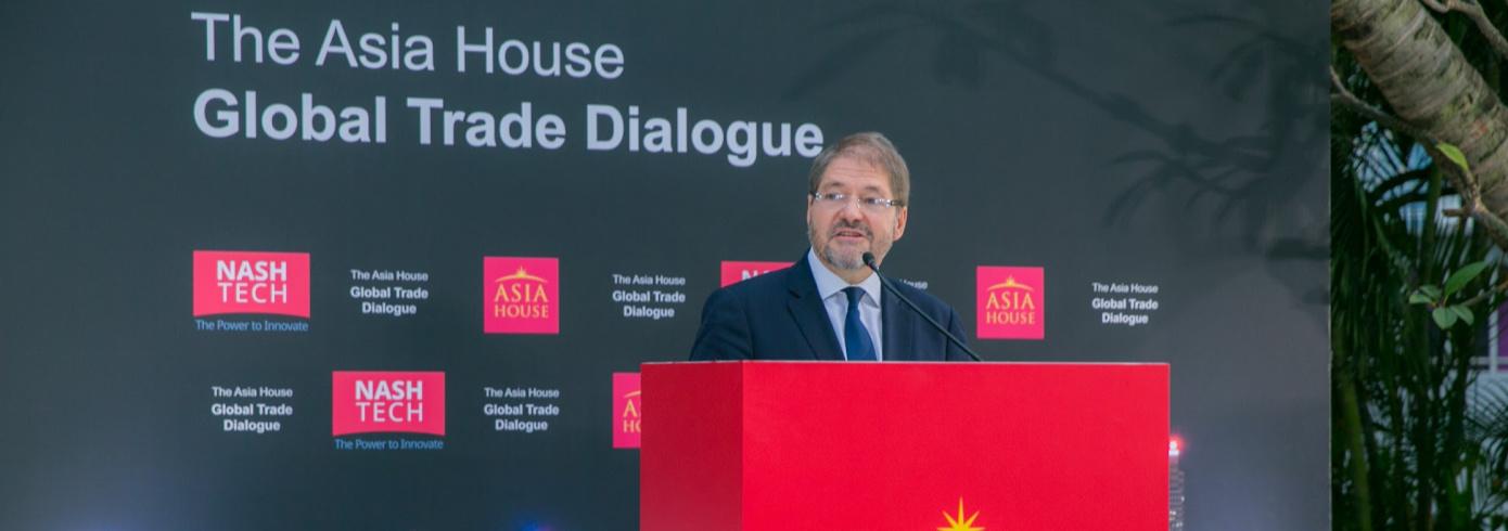 Asia House Global Trade Dialogue2019のスポンサーとしてNashTechが出席しました!